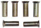 Klinknagel bolkop 6x18.mm / 200.stuks